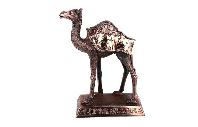 Dekoratif Deve Figürlü Biblo (25cm) - Thumbnail
