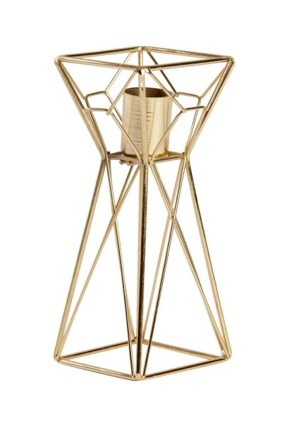 MIZALLE Decorative Metal Candle Holder (Small)