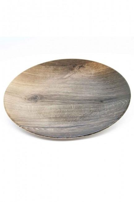 Dekoratif Tabak (Ağaç Desen) - Thumbnail