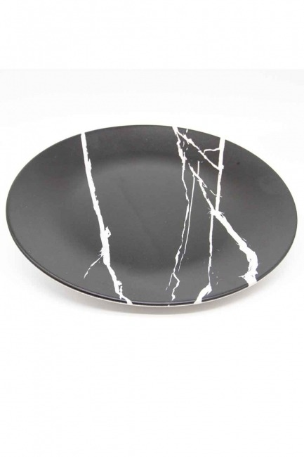 MIZALLE HOME - Decorative Plate (Marble Pattern) (1)