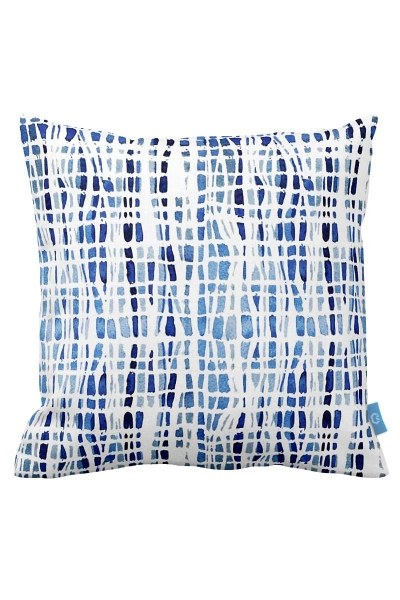 Blue Shades Decorative Pillow Case (43X43) - Thumbnail