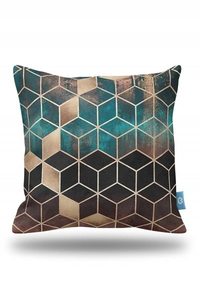 Decorative Pillow Cover With Motives (43X43) - Thumbnail