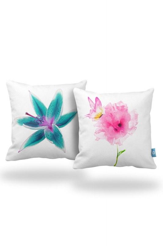 Decorative Pillow Case Set (43X43)