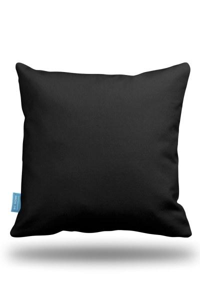 Black Decorative Pillow Case (43X43) - Thumbnail