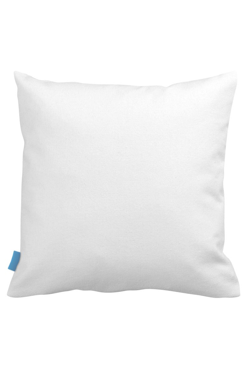 MIZALLE Decorative Pillow Case With Turquoise Flowers (43X43) (1)