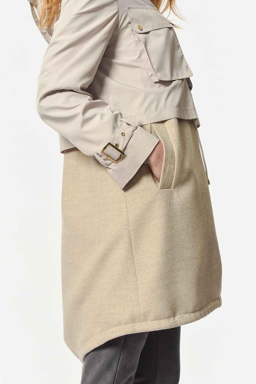 MIZALLE Deluxe Jacket (Beige) (1)