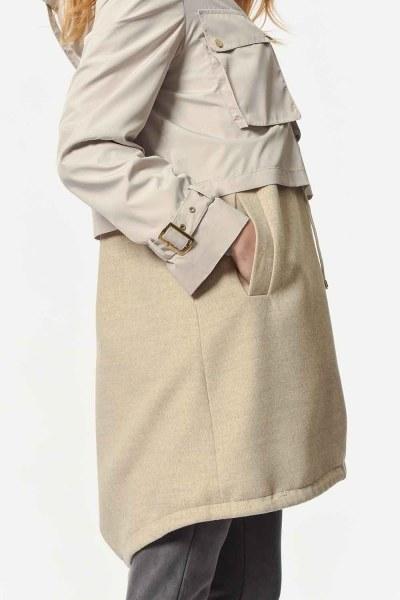 MIZALLE - Deluxe Jacket (Beige) (1)