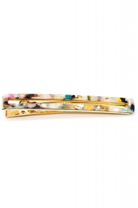 Patterned Hair Clips (Colorful)
