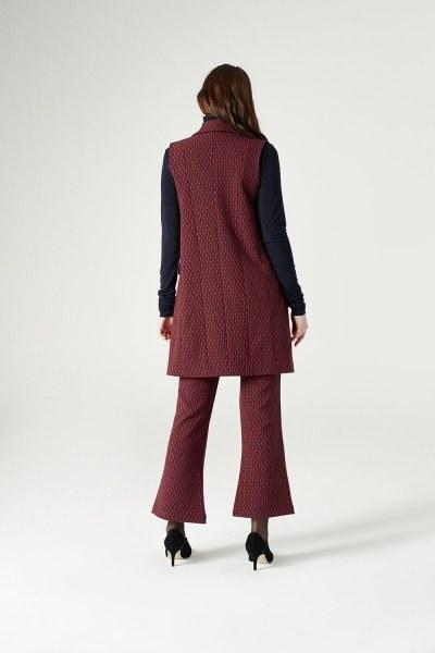 Figured Vest (Red) - Thumbnail