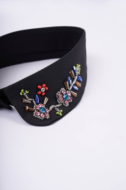 MIZALLE - Design Accessory Collar (Flower) (1)