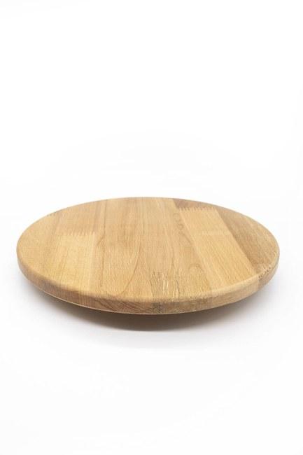 Dönen Bambu Sunum Tahtası (36x36) - Thumbnail