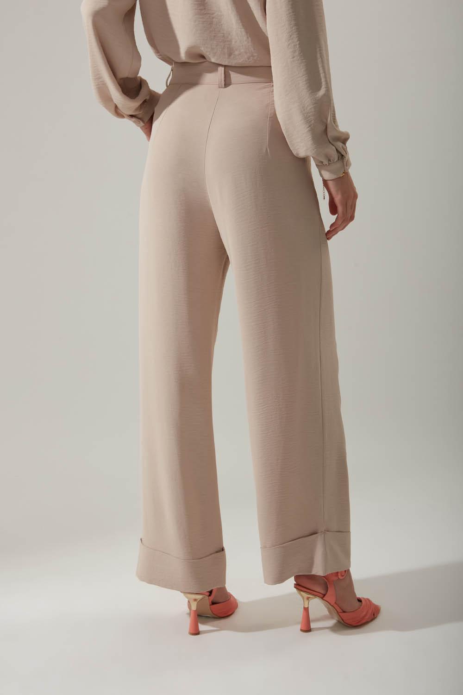 Duble Paça Taş Pantolon