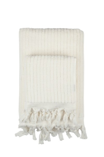 MIZALLE HOME Cotton Bath Towel Ecru (90X170)