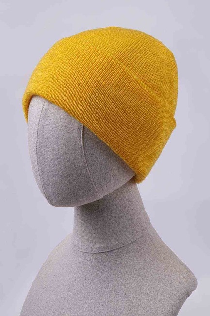 Mizalle - Basic Beanie (Yellow)