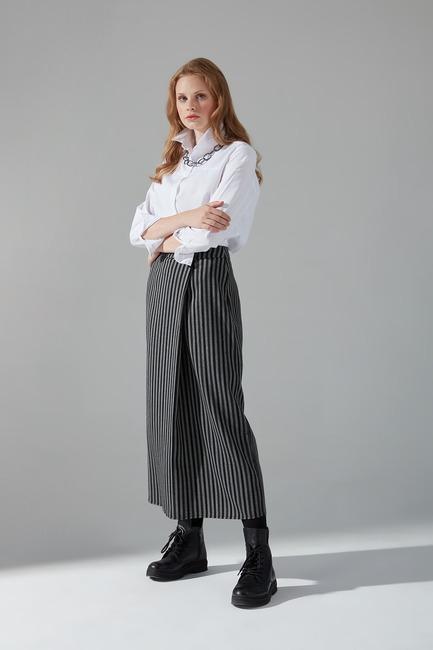 Mizalle - Basic Skirt (Black)