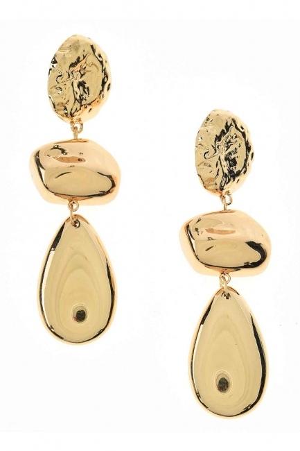 Mizalle - Big Dangling Earrings (St)