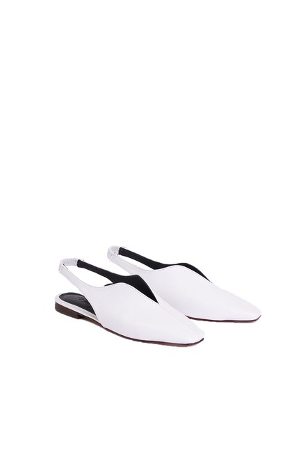 Mizalle - Closed Toe Shoes (White)