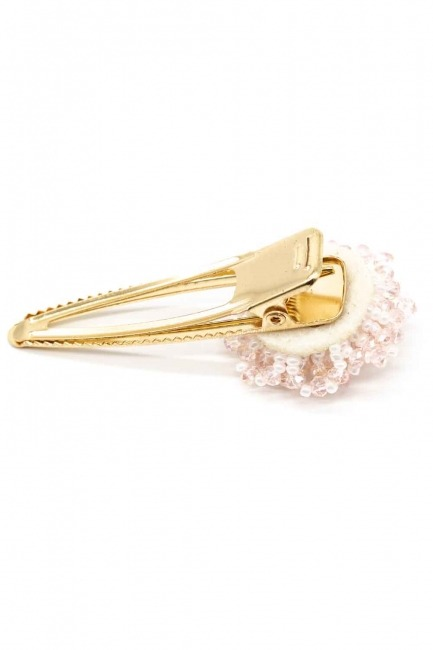 Mizalle - Clover Detailed Hair Clips (Pink) (1)