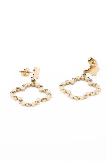 Mizalle - Clover Earrings (Yellow)