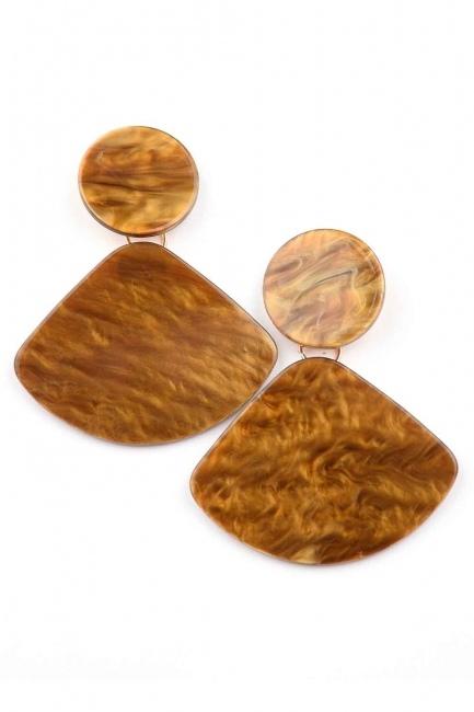 Mizalle - Color of Soil Dangling Earring (St)
