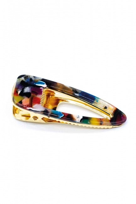 Mizalle - Colorful Snap Hair Clips (Patterned)