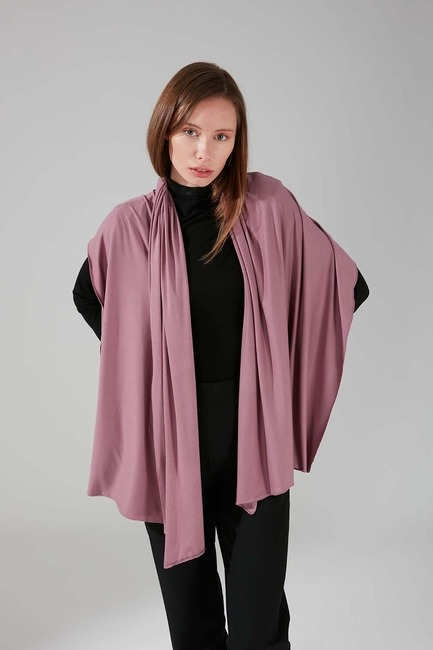 Mizalle - Combed Cotton Shawl (Light Pink)