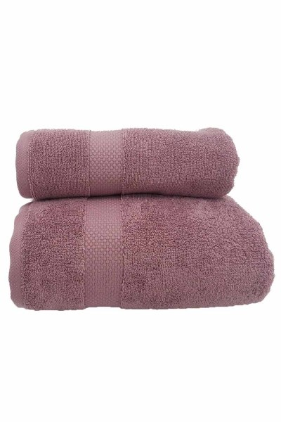 Mizalle Home - Cotton Towel (50X90) (Rose)