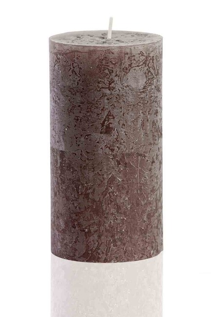 Mizalle Home - Cylinder Form Anthracite Rustic (13X6,8)