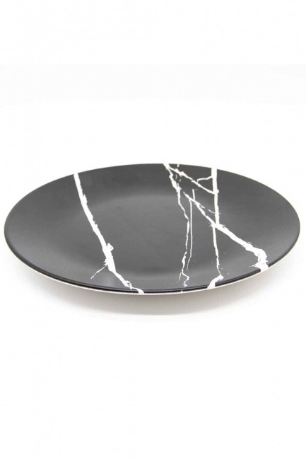 Mizalle Home - Decorative Plate (Marble Pattern)