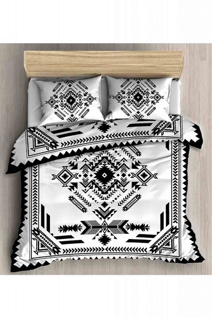 Mizalle Home - Double Linens Set (Black)