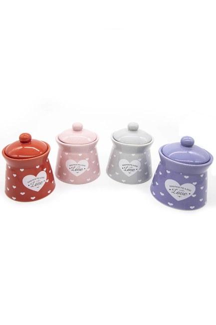 Mizalle Home - Heart Jar Kit (Quadruple)