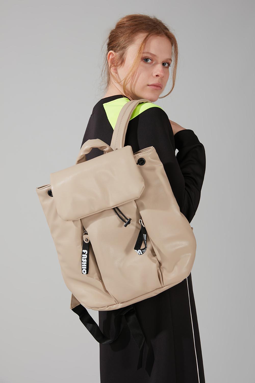 Mizalle - Inflatable Backpack (Beige)