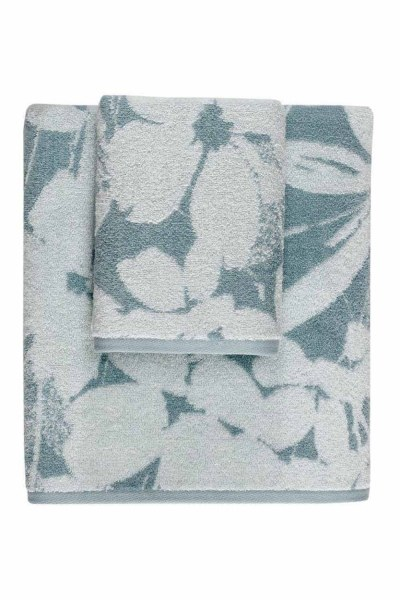 Mizalle Home - Jacquard Bath Towel (100X150) (Mint)