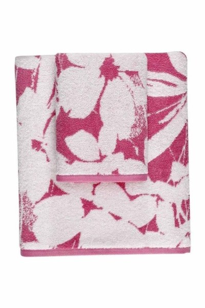 Mizalle Home - Jacquard Bath Towel (100X150) (Pink)