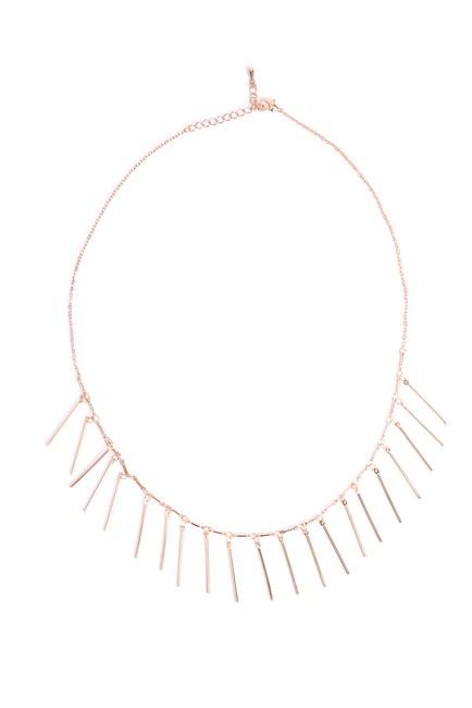 Mizalle - Long Pendant Necklace (Yellow)