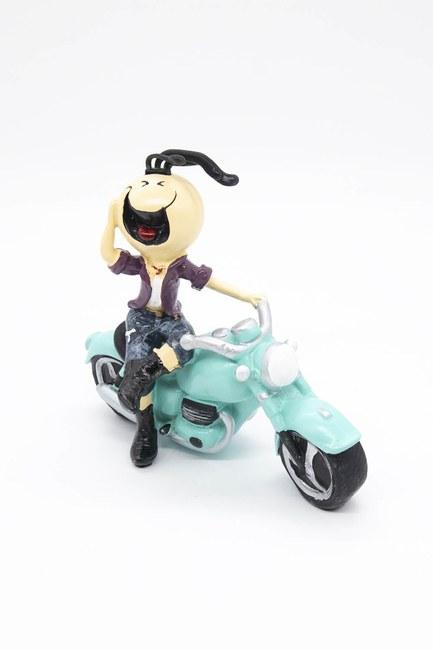Mizalle Home - Motorcycle Decorative Trinket (Blue)