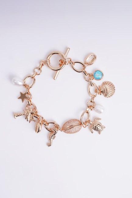 Mizalle - Multiple Themed Bracelet (Blue)