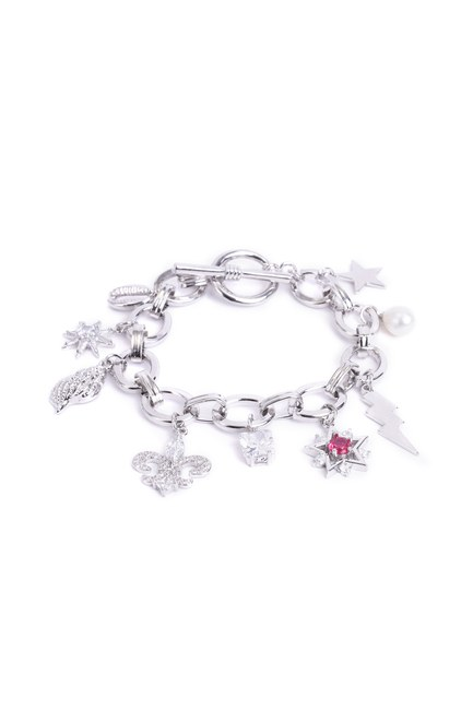 Mizalle - Multiple Themed Bracelet (Pearl)