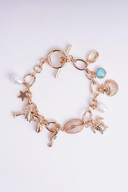 Mizalle - Multiple Themed Bracelet (Tortoise)