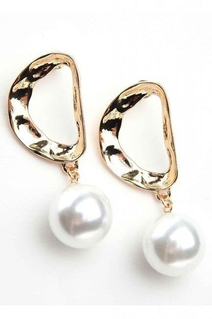 Mizalle - Pearl Detailed Earrings (St)