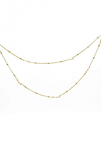 Mizalle - Pearl Detailed Necklace