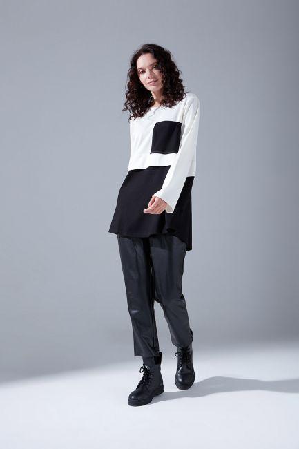 Mizalle - Pocketed Tunic (Ecru)