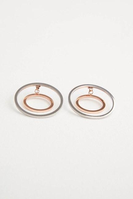 Mizalle - Round Earrings