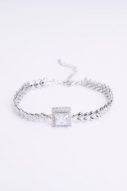 Mizalle - Shining Bracelet (Grey)