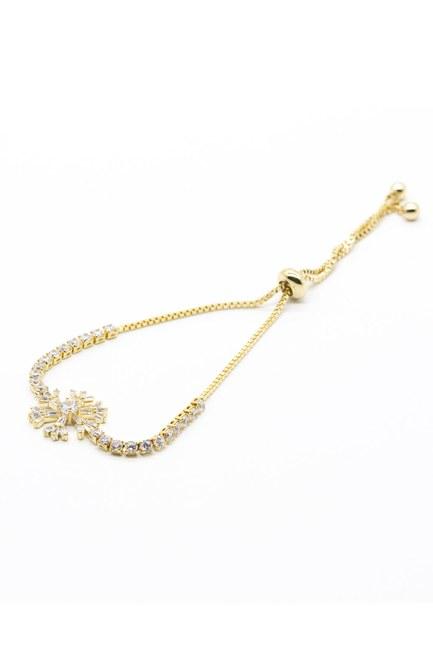 Mizalle - Snowflake Bracelet (Yellow)