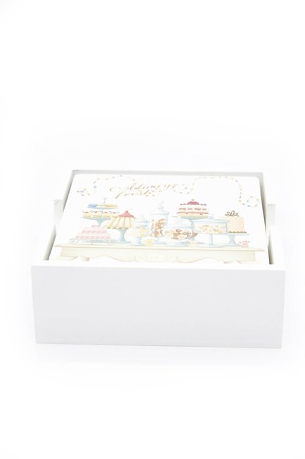 Mizalle Home - Square Coasters (White)