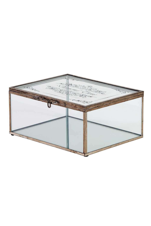 MIZALLE صندوق مجوهرات معدني (كبير) (1)