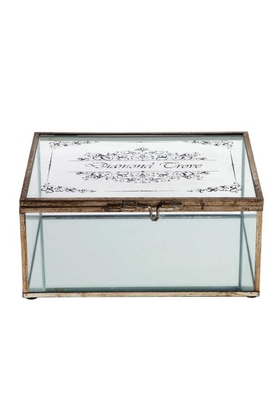MIZALLE Metal Jewelry Box (Large)