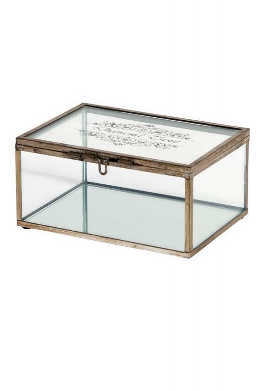صندوق مجوهرات معدني (صغير)