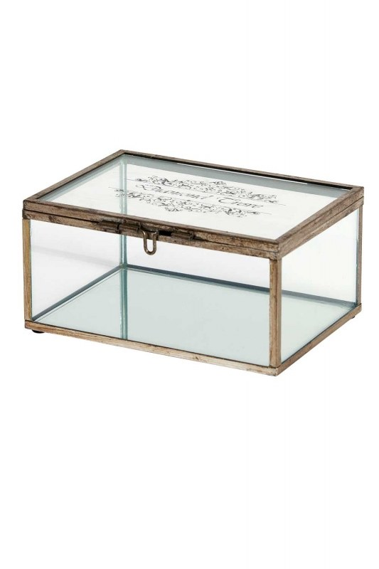 Metal Jewelry Box (Small)